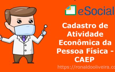Cadastro de Atividade Econômica da Pessoa Física – CAEPF